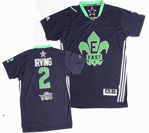 #2 Kyrie Irving 2014 NBA All-Star Game Eastern Conference Swingman Navy Blue Jersey