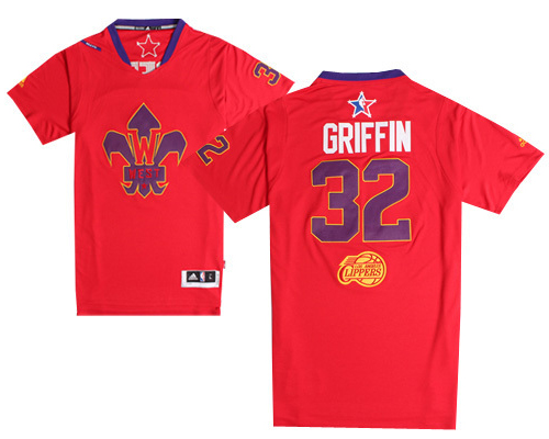 #32 Blake Griffin 2014 NBA All-Star Game Western Conference Swingman red Jersey