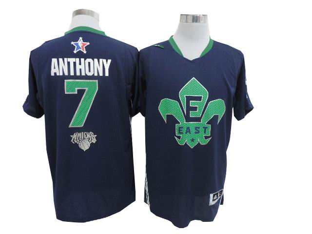 #7 Carmelo Anthony 2014 NBA All-Star Game Eastern Conference Swingman Jersey Navy Blue