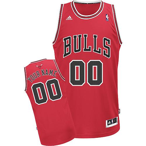 Chicago Bulls Revolution 30 personalized Custom Swingman Road Jersey