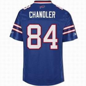 2011 New Buffalo Bills 84# Scott Chandler blue jerseys