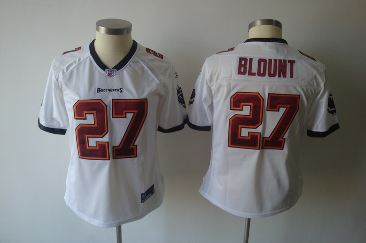 2011 Women TEAM Tampa Bay Buccaneers 27# LeGarrette Blount white jerseys