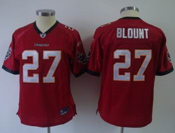 2011 Women team Jersey Tampa Bay Buccaneers #27 LeGarrette Blount jerseys Red