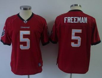 2011 Women team Jersey Tampa Bay Buccaneers #5 Freeman Jerseys Red