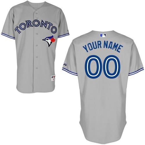 2012 Toronto Blue Jays Personalized custom grey Jersey