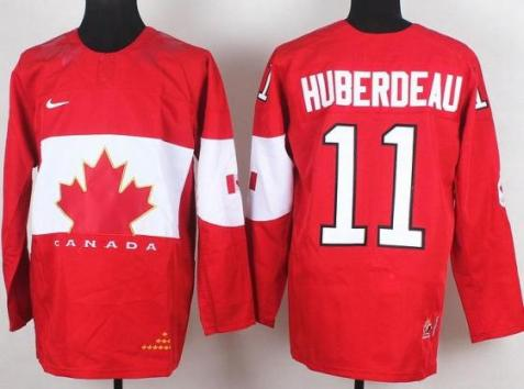 2014 IIHF ICE Hockey World Championship Canada Team 11 Jonathan Huberdeau Red Jerseys
