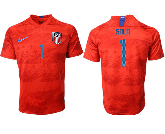 2019-20 USA 1 SOLO Away Thailand Soccer Jersey