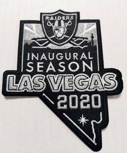2020 Raiders Inaugural Season Las Vegas Patch