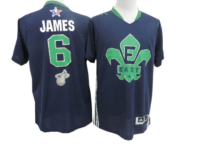 6# LeBron James 2014 NBA All-Star Game Eastern Conference Swingman Jersey Navy Blue