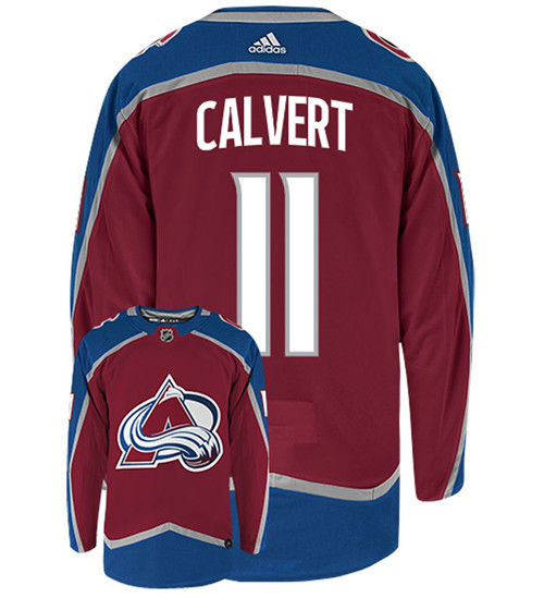AVALANCHE #11 Matt CALVERT Home NHL Jersey