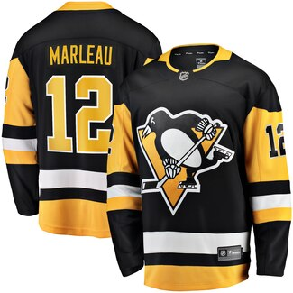Adidas Pittsburgh Penguins # 12 Patrick Marleau black Jersey