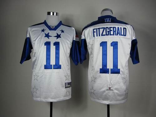 Arizona Cardicals 11 Larry Fitzgerald 2012 Pro Bowl NFC Jersey