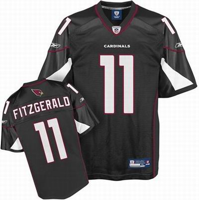 Arizona Cardinals #11 Larry Fitzgerald Alternate Jersey black