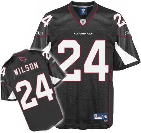 Arizona Cardinals #24 Adrian Wilson Premier 3rd Jersey black