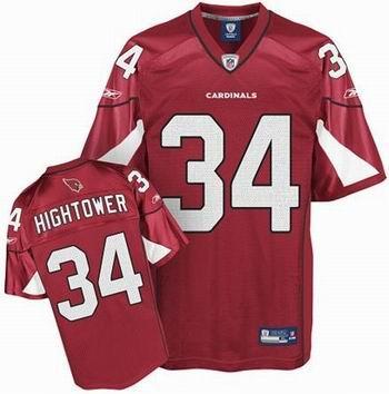 Arizona Cardinals #34 Tim Hightower Team Color Jersey