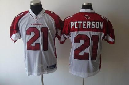 Arizona Cardinals 21 Patrick Peterson white Color Jersey