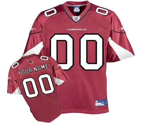 Arizona Cardinals Customized Team Color Jersey