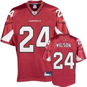 Arizona Cardinals Jersey #24 Adrian Wilson Jerseys red