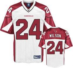 Arizona Cardinals Jersey #24 Adrian Wilson Jerseys white