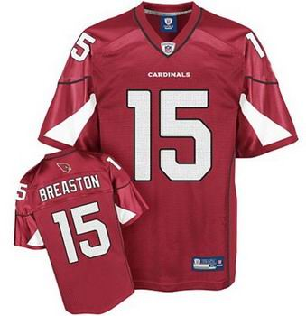 Arizona Cardinals Steve Breaston #15 Red Home Jerseys