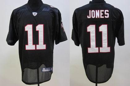 Atlanta Falcons #11 Julio Jones Black football jerseys