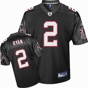 Atlanta Falcons #2 Matt Ryan black Jersey