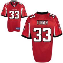 Atlanta Falcons 33# Michael Turner red