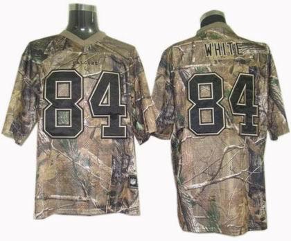 Atlanta Falcons 84# Roddy White realtree Jersey camo