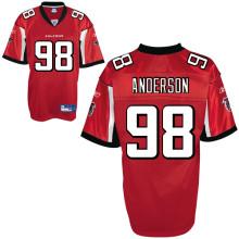 Atlanta Falcons 98# Jamaal Anderson red