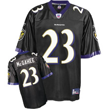 Baltimore Ravens #23 Willis McGahee Alternate black