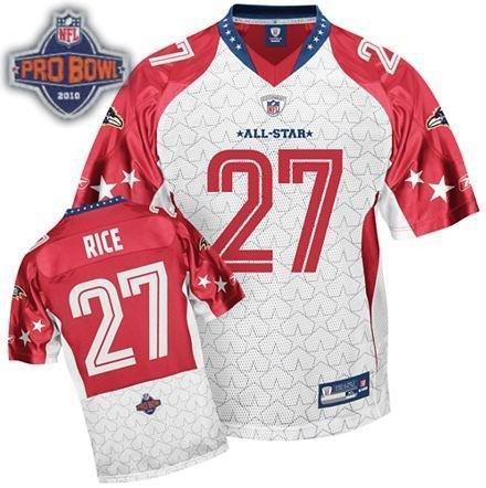 Baltimore Ravens #27 Ray Rice 2010 Pro Bowl AFC
