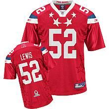 Baltimore Ravens #52 Ray Lewis 2011 Pro Bowl AFC Jersey