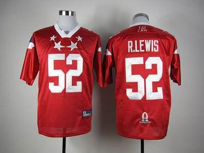 Baltimore Ravens #52 Ray Lewis 2012 Pro Bowl AFC Jersey