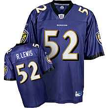 Baltimore Ravens #52 Ray Lewis Team Color Jersey purple