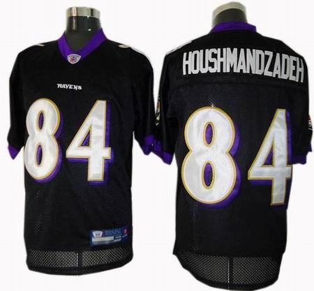 Baltimore Ravens #84 TJ Houshmandzadeh jereys black