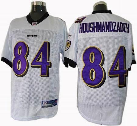 Baltimore Ravens #84 TJ Houshmandzadeh jereys white