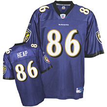 Baltimore Ravens #86 Todd Heap Team Color Jersey blue