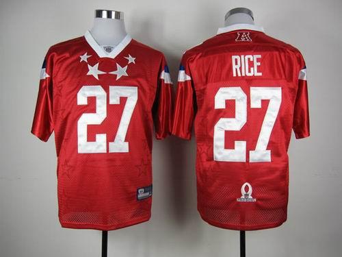 Baltimore Ravens#27 Ray Rice 2012 Pro Bowl AFC Jersey