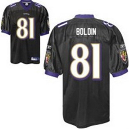 Baltimore Ravens Anquan Boldin Jersey #81 color black