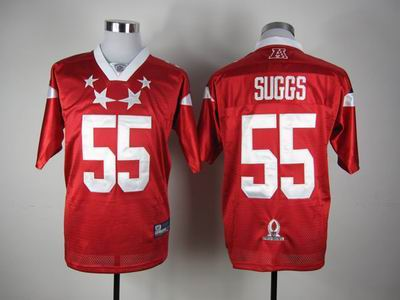 Batlimore Ravens #55 Terrell Suggs 2012 Pro Bowl AFC Jersey