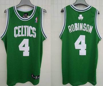 cd20b8614e9 Boston Celtics  4 Nate Robinson Embroidered Green White Number
