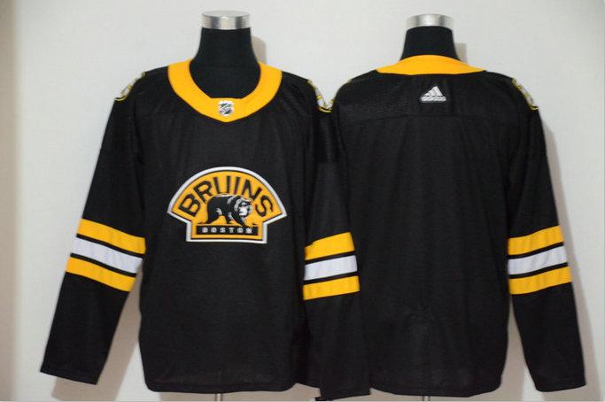 Bruins Blank Black 3rd Adidas Jersey