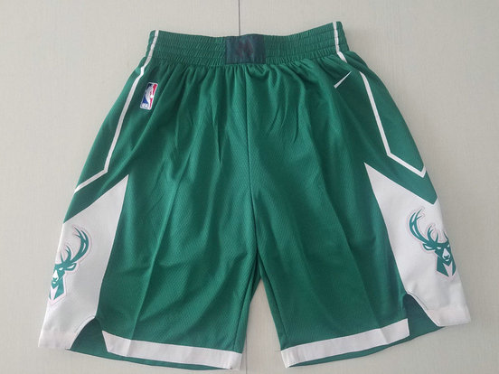 Bucks Green Nike Shorts
