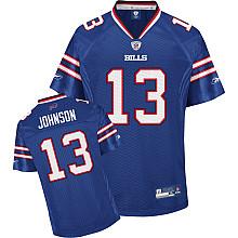 Buffalo Bills #13 Steve Johnson Team Color blue Jersey