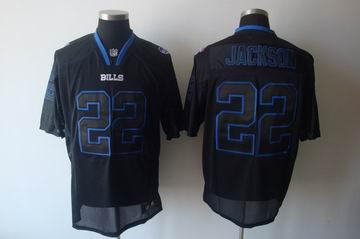 Buffalo Bills #22 Fred Jackson black Champs Tackle Twill jerseys