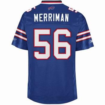 Buffalo Bills #56 Shawn Merriman Jersey Home jerseys blue
