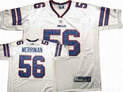 Buffalo Bills #56 Shawn Merriman Jersey jerseys white