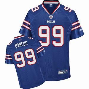 Buffalo Bills 99# Marcell Dareus blue Team Color Jersey