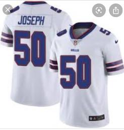 Buffalo bills #50 Joseph White Vapor Limited Jersey