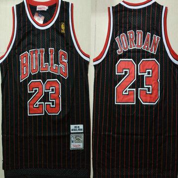 Bulls 23 Michael Jordan Red 1992-93 Hardwood Classics Swingman Jersey